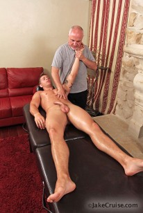 Kris Jamieson Massaged from Jake Cruise