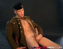 Cadet Aidan Jacks Off from Uk Naked Men