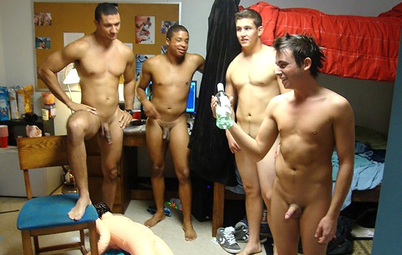 Bisexual gangbang free
