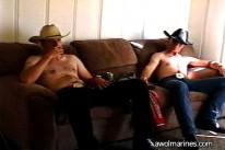 Cowboy Buddies from Awol Marines