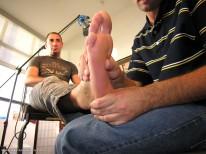 Lick My Feet from New York Straight Men