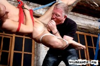 Strung Up And Fucked from Boynapped