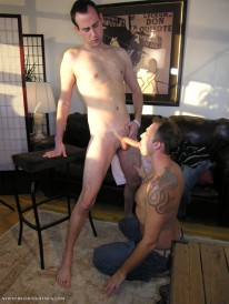 Cum Drenched from New York Straight Men