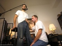 Upstate Blowjob from New York Straight Men