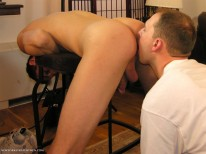 Brents Rimjob from New York Straight Men