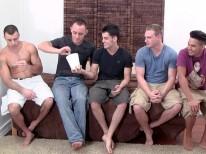 4 Guys On Garrett from Straight Fraternity