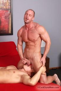 Brady Jensen Mitch Vaughn from Cocksure Men