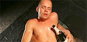 Marcel Pops His Cork from Uk Naked Men