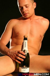 Marcel Pops His Cork from Uk Naked Men
