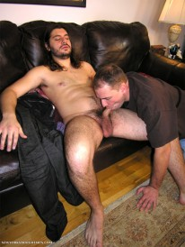Servicing Adam from New York Straight Men