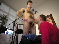 Tony Unloads from New York Straight Men