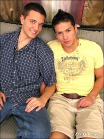 Jordan And Jherrad from Ass Lick Boys