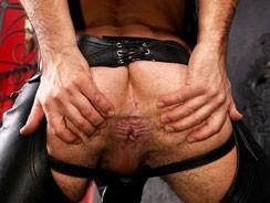Malik Tn Leather from Uk Naked Men