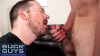 Swallowing Young Spunk from Suck Off Guys