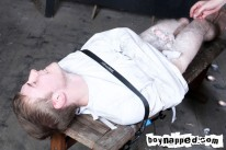Restrained In Strait Jack from Boynapped