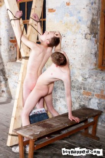 Tied To Cross And Flogged from Boynapped