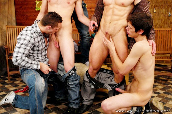 Wank party 4 part 1