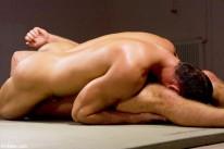 Fabrizio Vs Rick from Naked Kombat