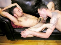 Playing On The Sofa from New York Straight Men