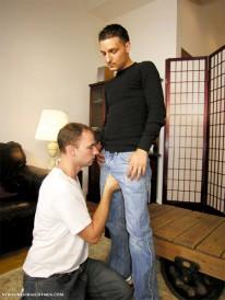 Tonys Friend Vito from New York Straight Men