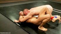 Brenn Wyson And Leo Forte from Naked Kombat