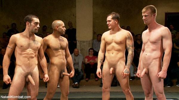 Wrestling team Naked tag