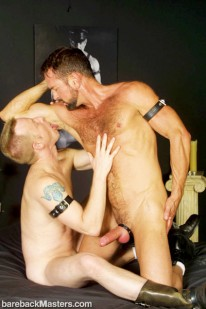 Hairy Daddy Hungry Slave from Bareback Masters