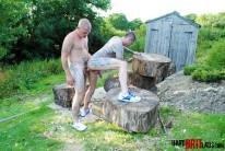Max English And Dan Jense from Hard Brit Lads