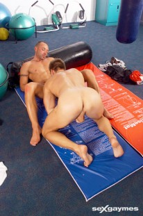 Marc And Karl Gymnastics from Sex Gaymes