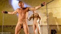 Tober Brandt Vs Chad Broc from Naked Kombat