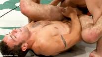 Spencer And Dj Vs Patrick from Naked Kombat