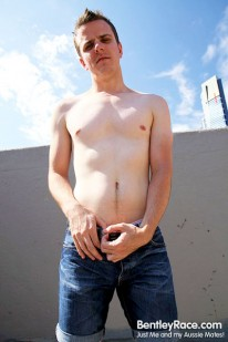 Brent Tyler Strips Naked from Bentleyrace