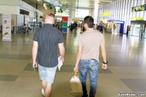 Airport Raw Sex Part 1 from Out In Public