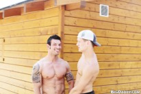 Hot Studs Fuck Outdoors Part from Out In Public