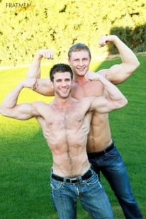 Clayton And Cole from Fratmen Sucks