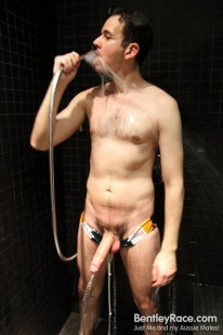 Shower Time With Astroboi from Bentleyrace