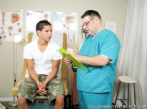 Jacob Gets A Physical Part 1 from College Boy Physicals