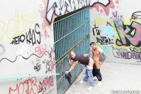 Fucked Bareback Outside Part2 from Out In Public