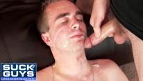 Haydens Big Load Facial from Suck Off Guys