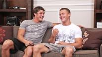 Joshua And Brandon Bareback from Sean Cody