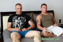 Guy And Tanner from Active Duty