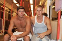 Train Station Bareback Fuckin from Out In Public