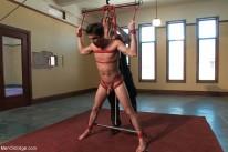 Straight Stud Bondage from Men On Edge