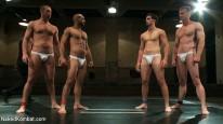 Leo Forte Blake Daniels from Naked Kombat