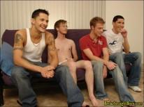 Taz And Jonas Orgy from Broke Straight Boys