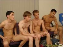 Taz And Jonas Orgy 2 from Broke Straight Boys