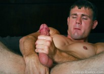 Dennis Slade Busts A Nut 2 from College Dudes