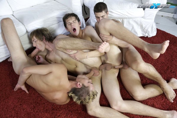 Gay mature daisy chain