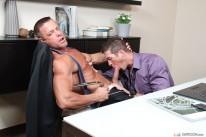 Mutli Tasking Employee from Office Cock