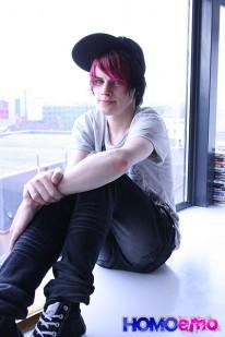 Cute Emo Boy Damien Winters from Emo Network
